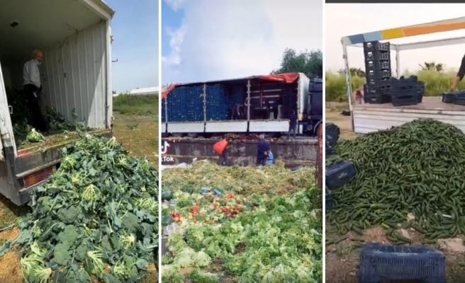 Çok Zor Çok: Destek Paketsiz Tam Kapanma Nedeniyle İsyan Eden Esnaf ve Çiftçiler Ürünleri Çöpe Döküyor!