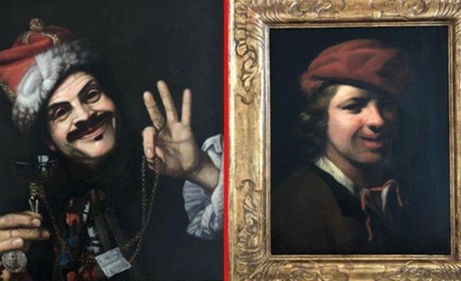 Çöpten 350 yıllık 2 tane çok değerli tablo çıktı! Sahibi aranıyor