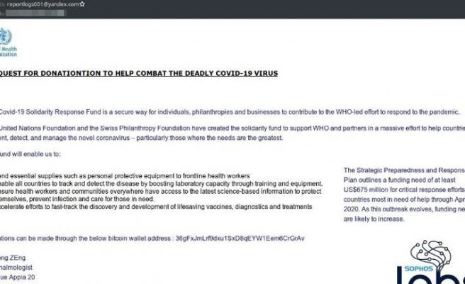 COVID-19'da bir siber saldırı daha!