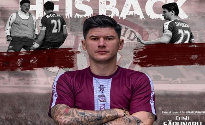 Cristian Sapunaru Rapid Bükreş'e transfer oldu