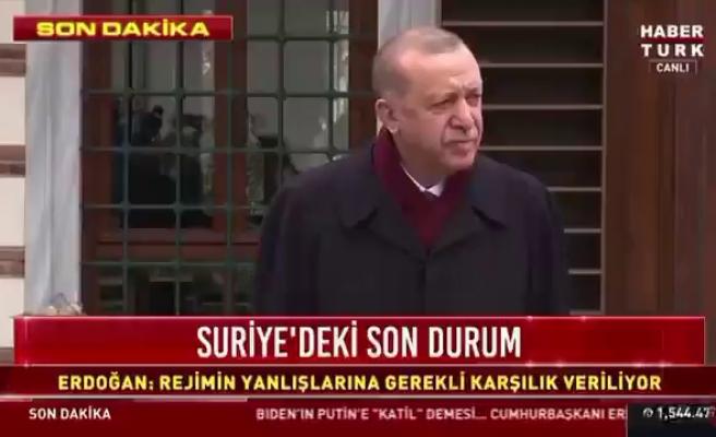 Cumhurbaşkanı Erdoğan'dan Gazeteciye: 'Çıkar Şunu ya, Maske Maske, Duymuyorum Sizi'