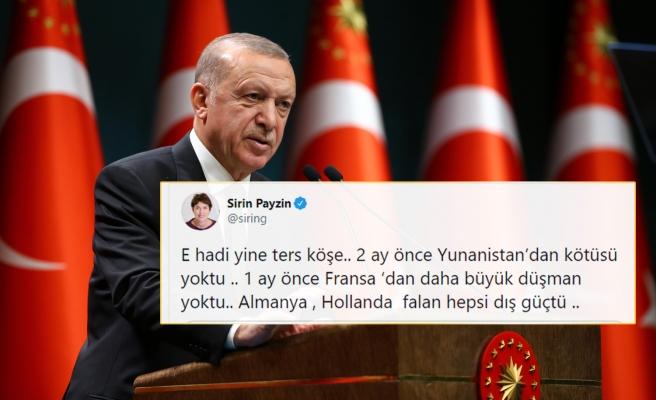 Cumhurbaşkanı Erdoğan'ın 'Kendimizi Avrupa'da Görüyoruz' Sözlerine Tepkiler