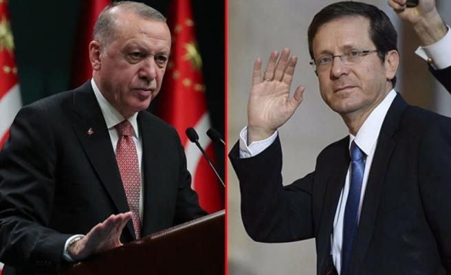 Cumhurbaşkanı Erdoğan, İsrail Cumhurbaşkanı Hertzog ile görüştü
