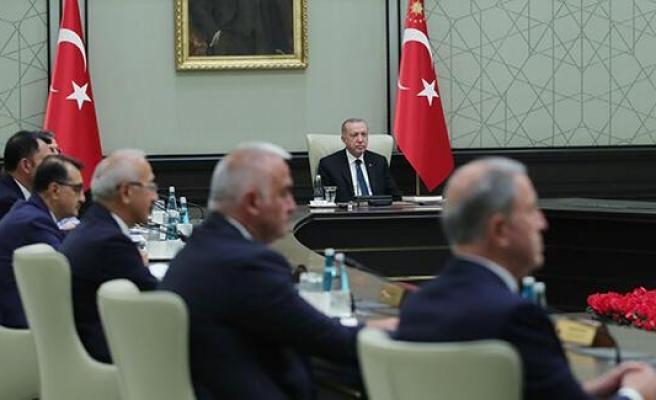 Cumhurbaşkanlığı Kabinesi Toplandı: Erdoğan'ın Açıklama Yapması Bekleniyor
