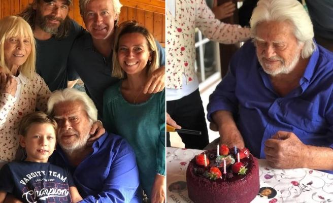 Cüneyt Arkın'ın 84. yaş sevinci