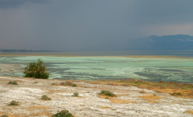 Dikkat Çeken Gelişme! Burdur Gölü'nün Rengi Değişti...