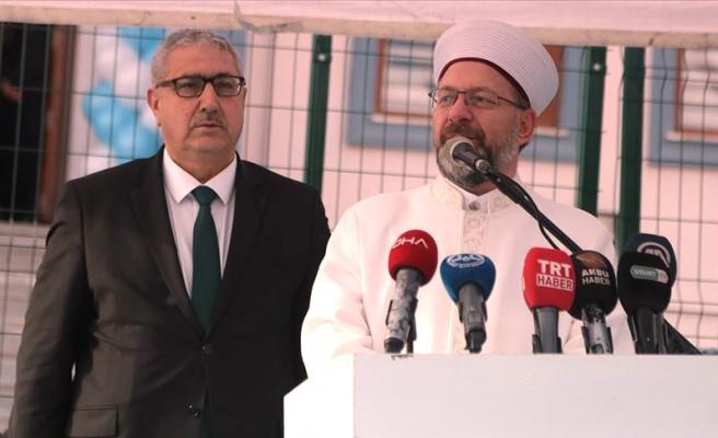 Diyanet İşleri Başkanı: 'Kuran Kurslarında Bir Tuğlası Olana Cennette Ev Verilecek'