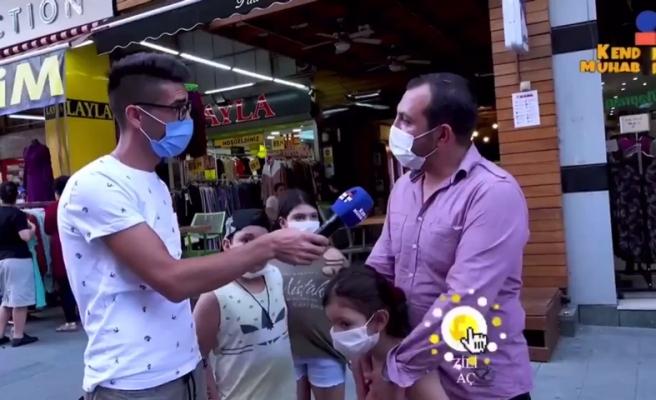 'Dolarla İşim Yok Benim' Diyen Vatandaş 'Samsung' Marka Telefona 'Türk Malı' Dedi