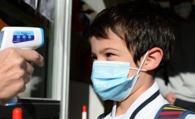 DSÖ'den 12 yaşından büyük çocuklara maske takma tavsiyesi