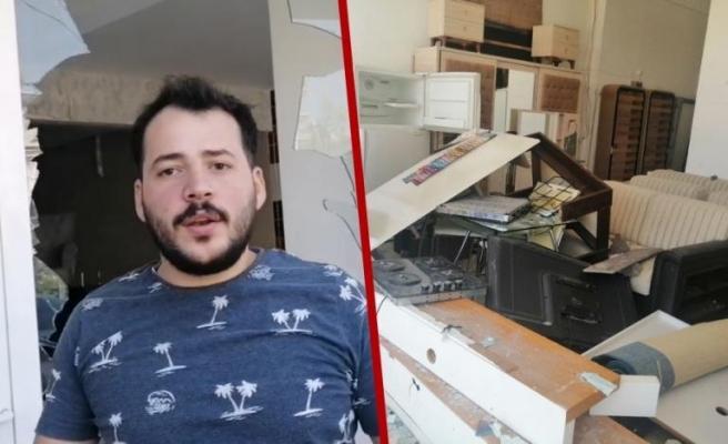 Dükkanı Yağmalanan Suriyeli Konuştu: Mecbur Taşınacağım, Bir Daha Gelecekler, Yakacaklar