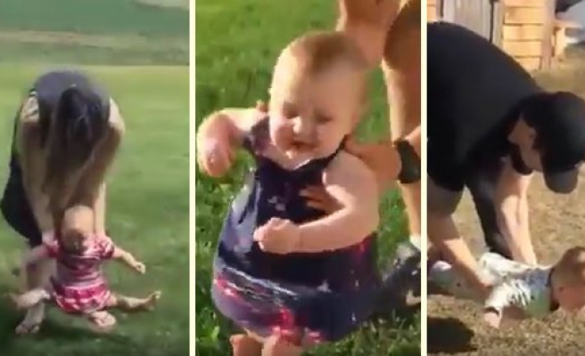 Dünya Tatlısı Bebeklerin Yere Basma Korkularını Bir Araya Getiren Müthiş Video!