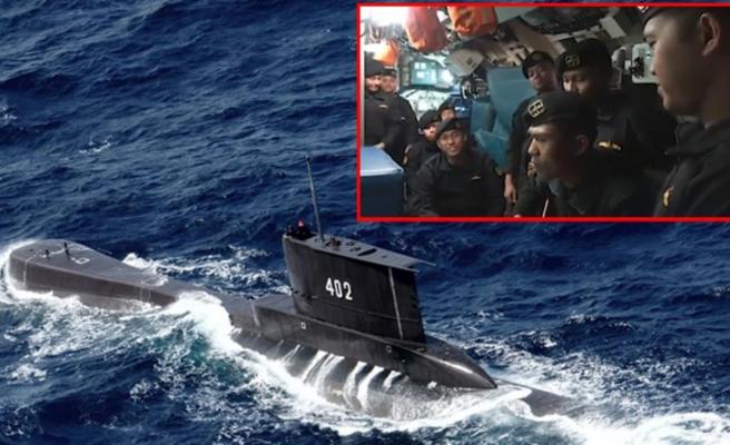 Dünyayı ağlatan 'Elveda'! 53 askere mezar olan denizaltıdan geriye bu görüntü kaldı