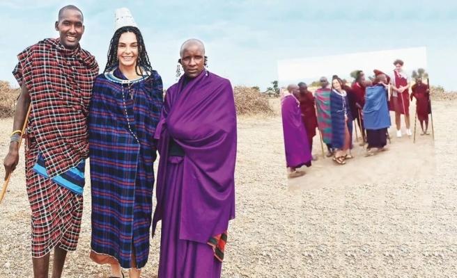 Ebru Şahin ve Cedi Osman'ın Afrika tatili sürüyor
