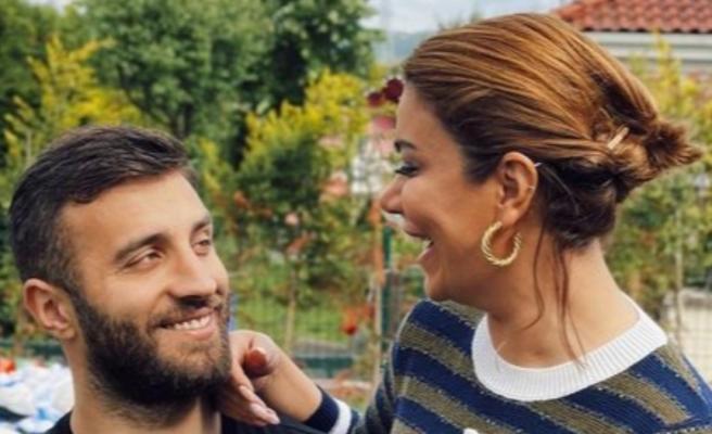 Ebru Şancı'dan eşi Alpaslan Öztürk'e esprili gönderme