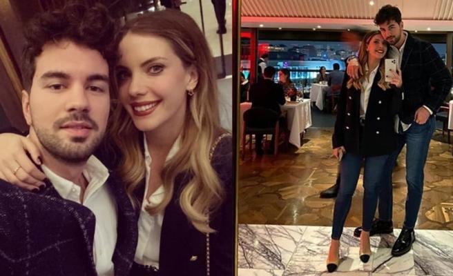 Eda Ece'den sevgilisi Buğrahan'a romantik kutlama