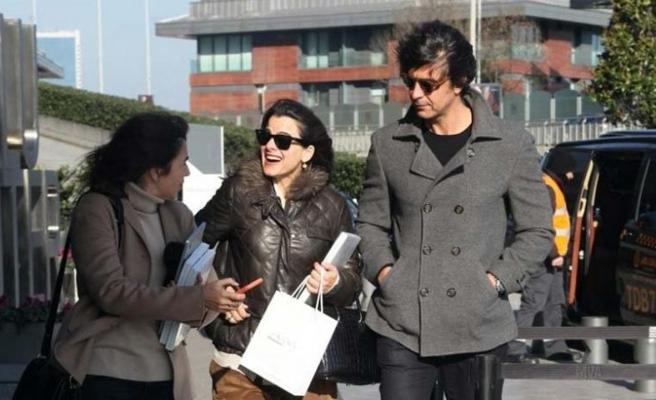 Edvina Sponza ve İbrahim Kutluay alışverişte görüntülendi