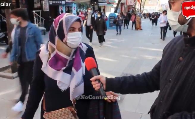 Ekonomiden Memnun Olmayan Her Şey Çok Zamlı, Fiyatlar Düzelmez Diyen Ama Seçim Olsa AKP'ye Veririm Diyen Kadın