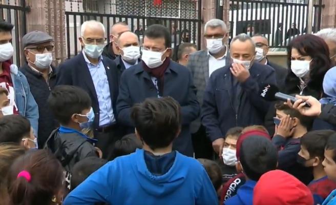 Ekrem İmamoğlu ile Çocuklar Arasında Eğlenceli Diyalog: 'Başkanım Sizi Çok Seviyoruz'