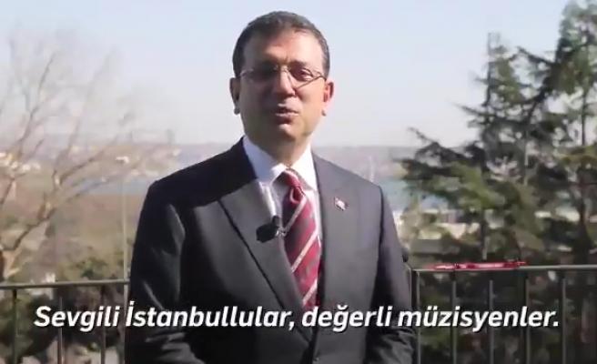 Ekrem İmamoğlu'ndan Müzisyenlere Destek: 'İstanbul Bir Sahne' Etkinlikleri Başlıyor