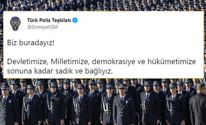 Emniyet, Jandarma ve MSB'den Peş Peşe 'Bildiri' Açıklaması: 'Hükümetimize Sonuna Kadar Sadık ve Bağlıyız'