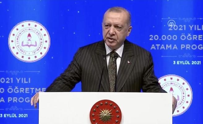 Erdoğan'dan Yüz Yüze Eğitim Açıklaması: 'Okullarımızı Açık Tutmakta Kararlıyız'