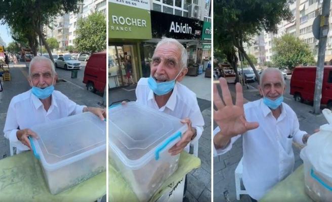 Eşinin Evde Yaptığı Pişileri Sokakta Satan ve Geçimini Bu Şekilde Sağlayan 77 Yaşındaki Muammer Amca
