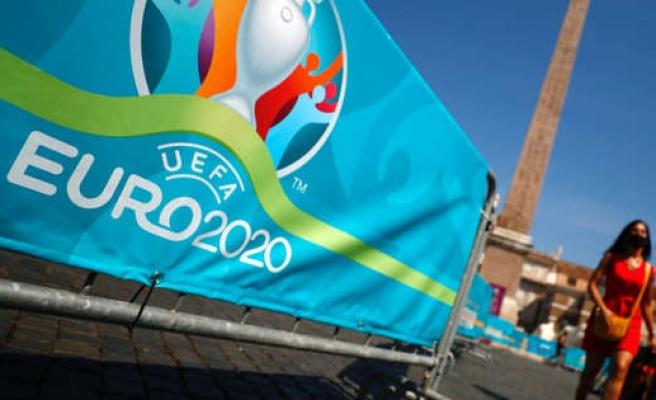 EURO 2020'nin Açılış Maçı Öncesi İtalya'da Kutlama Havası