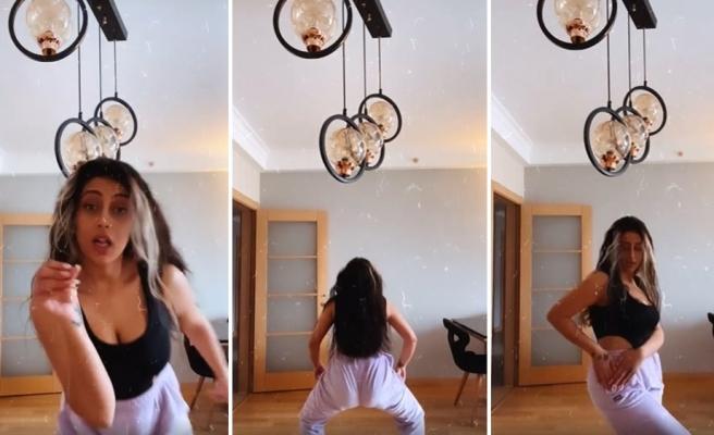Evleneceksen Gel Programı ile Ünlü Olan Solmaz Çiros'dan Kalça Dansı