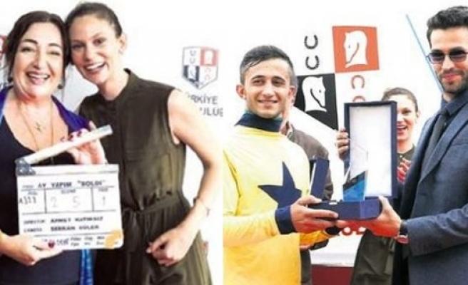 Farah Zeynep Abdullah ve Ekin Koç'un duygulandıran buluşması