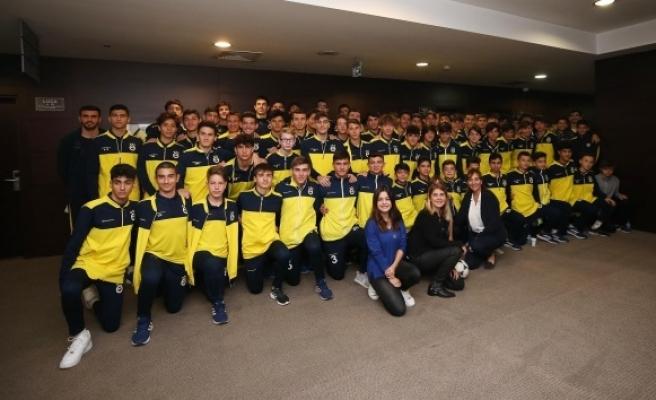 Fenerbahçe altyapısına videolu antrenman uygulaması