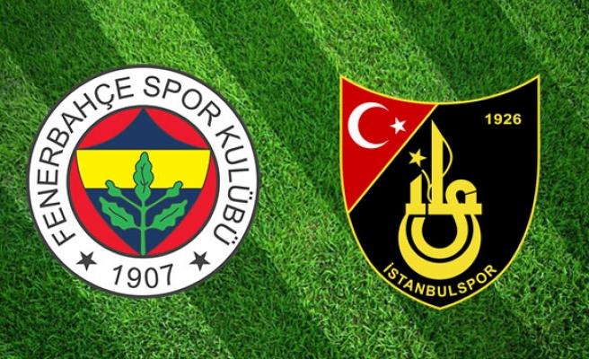 Fenerbahçe İstanbulspor Canlı İzle  Fenerbahçe İstanbulspor maçı ne zaman, saat kaçta, hangi kanalda?   İlk 11'ler