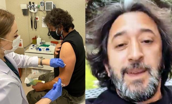 Fettah Can Corona virüs aşısı oldu
