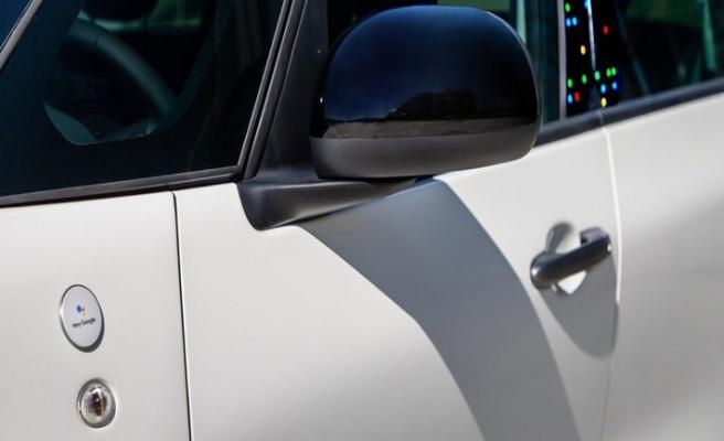 Fiat 500'ün içine Google