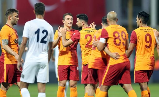 Galatasaray hazırlık maçında Kasımpaşa'yı 4-2 yendi