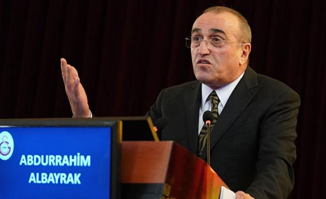 Galatasaray Kulübü, Abdurrahim Albayrak'ın korona virüs testinin pozitif çıktığını açıkladı