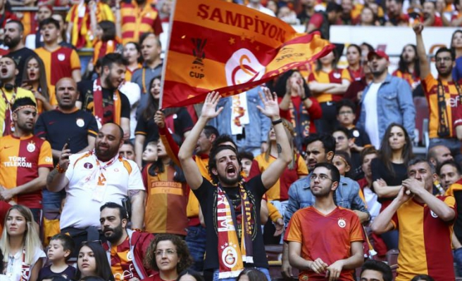Galatasaray şampiyonluğu kutluyor! İlk kareler