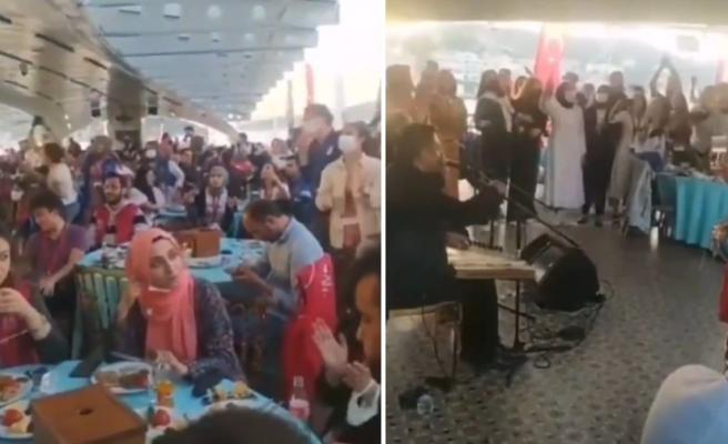 Gençlik ve Spor Bakanlığı'ndan Boğaz'da Fasıllı 'Fetih' Kutlaması Tepki Çekti
