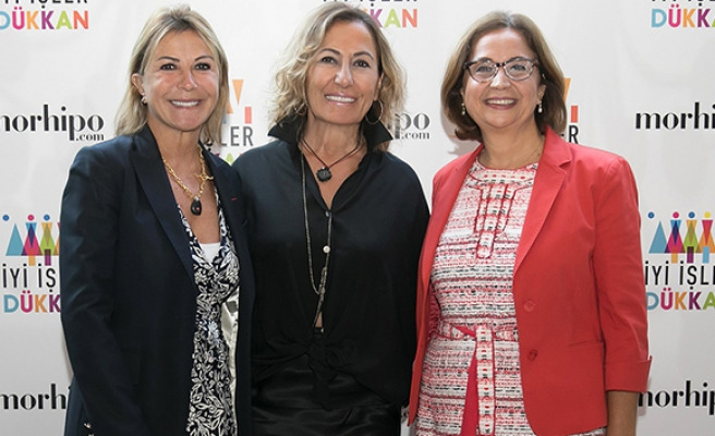 Girişimci kadınlar için 'İyi İşler Dükkan' açıldı