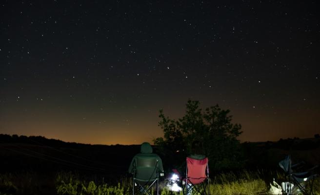 Gökyüzü Perseid meteor yağmuruyla renklendi