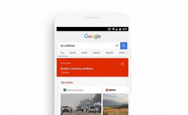 Google SOS Alerts yenileniyor