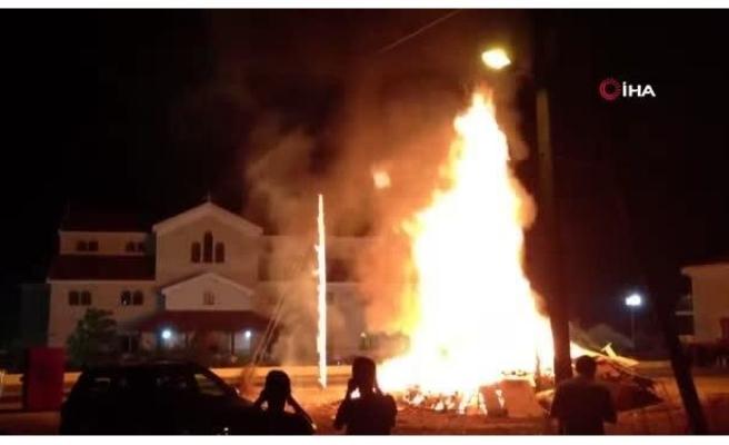 Güney Kıbrıs'ta Paskalya Kutlamaları Nedeniyle 1 Günde 250'den Fazla Yangın Çıktı