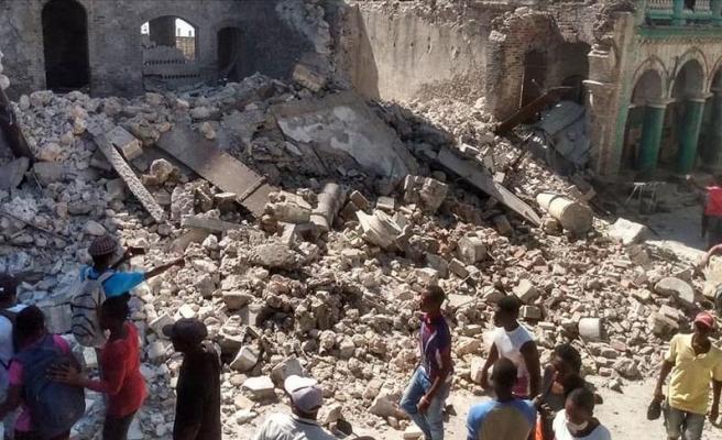 Haiti'de 7,2 Büyüklüğünde Deprem: 304 Kişi Hayatını Kaybetti