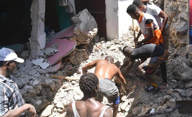 Haiti'deki depremde can kaybı sayısı bin 297'ye yükseldi