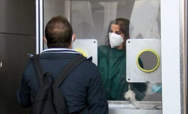 Hastanelerde PCR testi yoğunluğu