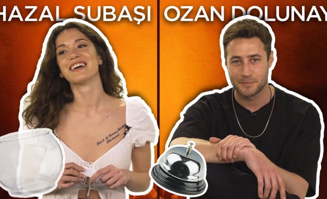 Hazal Subaşı ve Ozan Dolunay Sosyal Medyadan Gelen Soruları Yanıtlıyor!