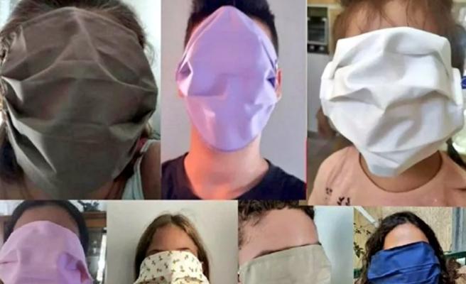 Hesap Hatası Olmuş: Yunanistan'da Okullara Dağıtılan Aşırı Büyük Maskeler Tepki Çekti