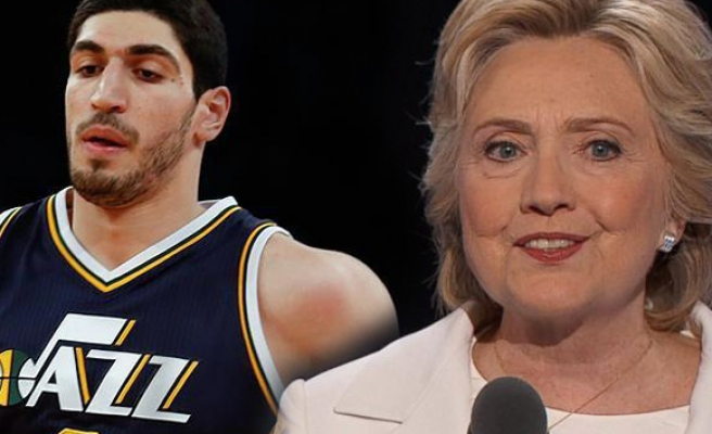 Hillary Clinton, FETÖ'cü Enes Kanter'i evinde ağırladı