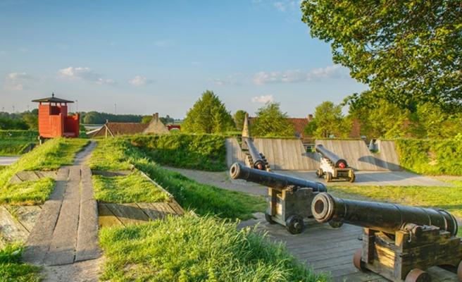 Hollanda'nın şekli nedeniyle dikkat çeken köyü: Bourtange
