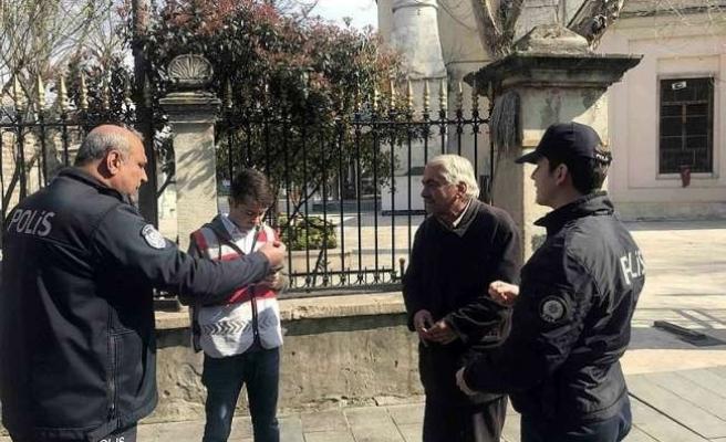 İlk Ceza Konya'da Kesildi: Sokağa Çıkan 65 Yaş Üstü Çifte 6.300 TL Para Cezası