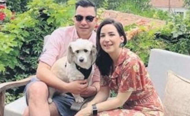 İpek Açar ve Alper Kömürcü'nün ilk aile tatili